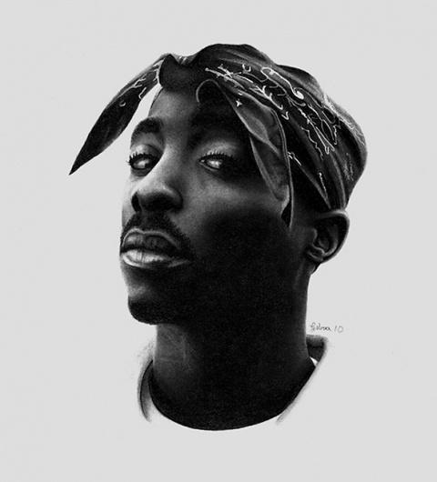 Tupac by ~GeeeO on deviantART #tupac #geeeo #drawing #shakur #2pac #pencil