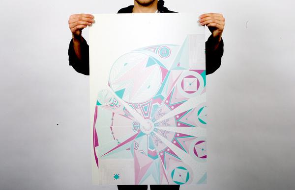 Polish Posters #polish #pattern #mexico #penis #poster #hexagono #new