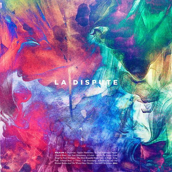 La Dispute — Wildlife #gotham #cover #lp #dispute #la #music #typography