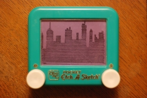 Michael Thomas Carey #a #city #etch #etchasketch #skyline #sketch
