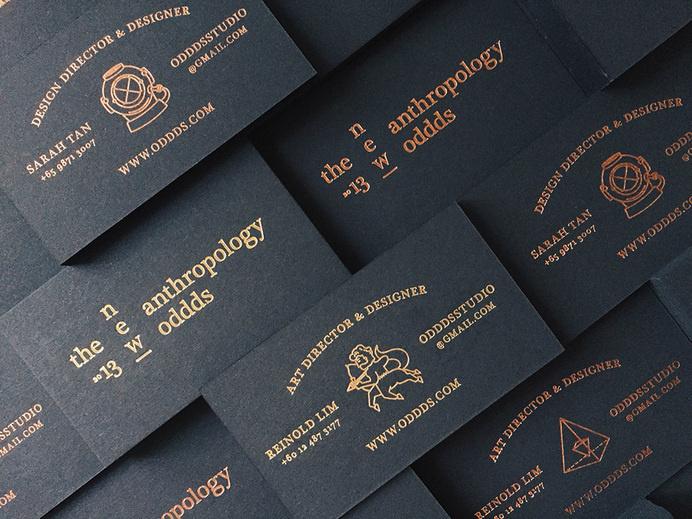 ODDDS studio via www.mr-cup.com #business #card #branding #odds