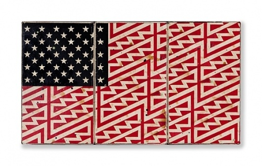 FAILE Drop Beautiful New Works Today! | Slags #flag #print #graphic #pattern