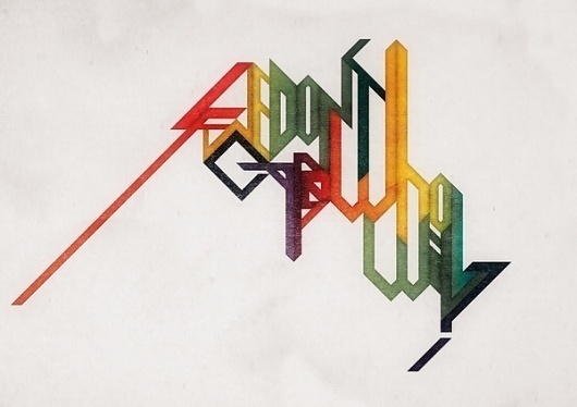 Charles Williams | Feature Me | Feature Me #colors #retro #typography