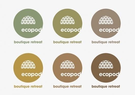 Ecopod | Identity Designed #logo #branding