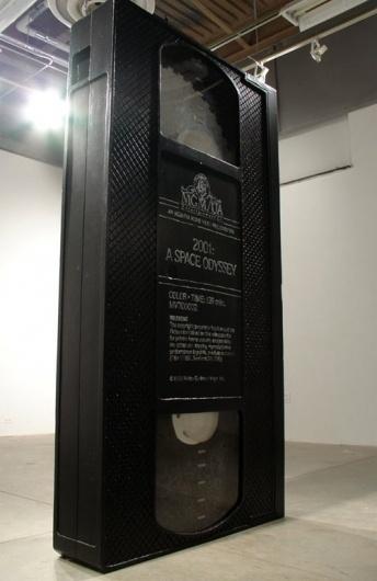 David Herbert / 2001: A SPACE ODYSSEY #sculpture #tape #a #space #2001 #video #vhs #odyssey #art #film