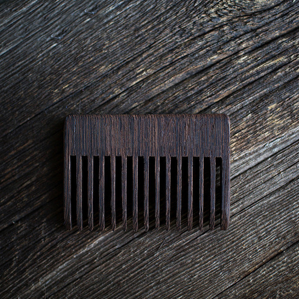 Boot Knife Beard Comb