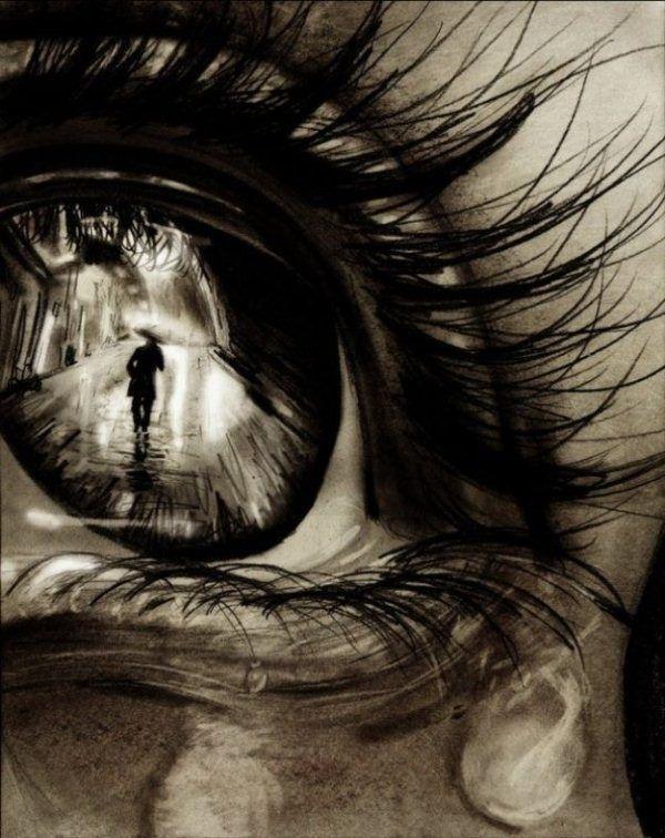 30 Expressive Drawings of Eyes #drawings<eyes