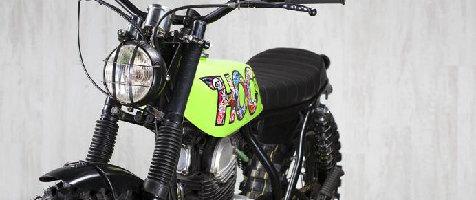 www.adhocaferacers.com | AD HOC #7 – AG-HOC YAMAHA SR 250 1989 #moto