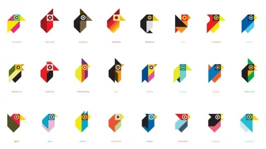 tonybuckland-birds.png (PNG Imagen, 711x400 pixels) #ideas #illustration #pixel