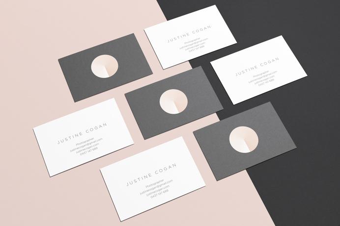 Brandon McIntosh Justine Cogan branding corporate design beautiful minimal best graphic design mindsparkle Mag tote bag stationery dot circl