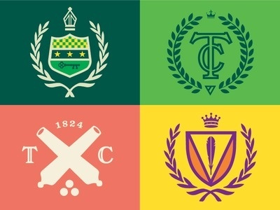 College #of #icons #arms #coat #logo