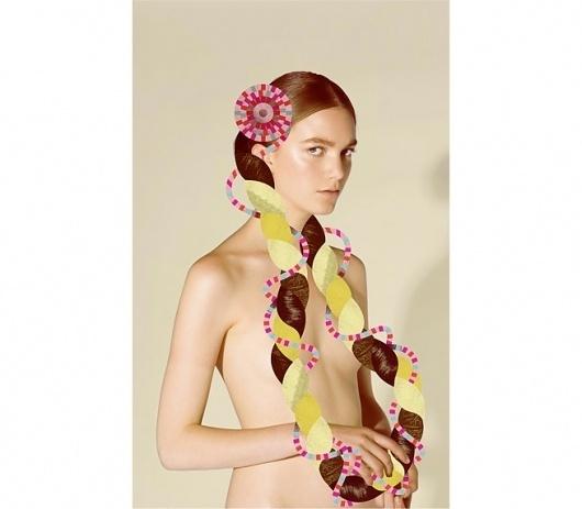Lotta Nieminen #fashion #media #illustration #mix