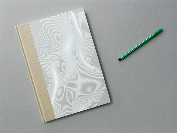 Patrick Fry / Nike Flyknit Workshops #white #pattern #forms #wave #cover #illustration #linear #pad #notebook