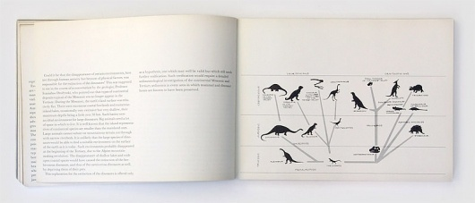 Hunting for Dinosaurs, 1969 | Gridness #diagram #print #design #book #grid #dinosaurs