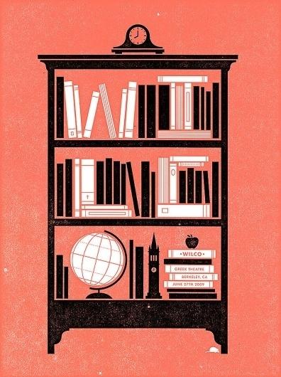 Mikey Burton / Designy Illustration #mikey #illustration #poster #burton #band #wilco