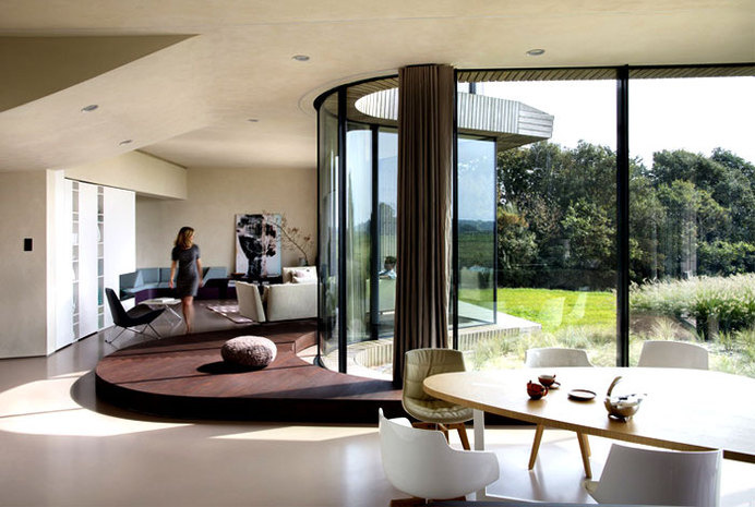 Sustainable Home Designed by UNStudio sustainable solution home 7 #interior #design #decor #living #livingroom #room