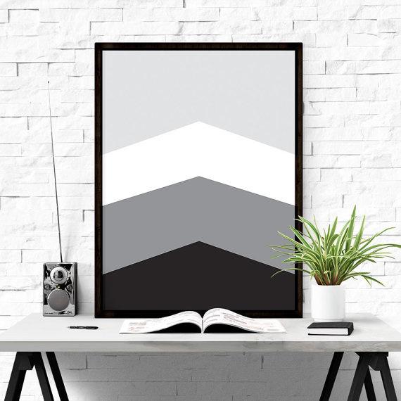 Geometric Printable Art #iloveprintable #poster