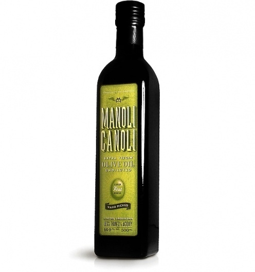Manoli Canoli Olive Oil on the Behance Network #packaging #typography #color #olive #oil