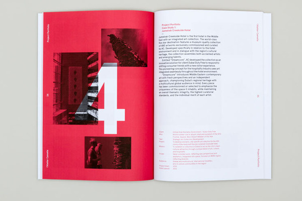 Spin — l'Atelier Camelia #red #white #print #black #and #brochure
