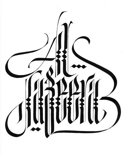 Google Image Result for http://3.bp.blogspot.com/-JX_7VI2hdE4/Tp1blCY_1XI/AAAAAAAAC-s/IH65bECAsuM/s1600/5578913151_058106b5de.jpg #calligraphy #ink #barcellona #luca #pen #type