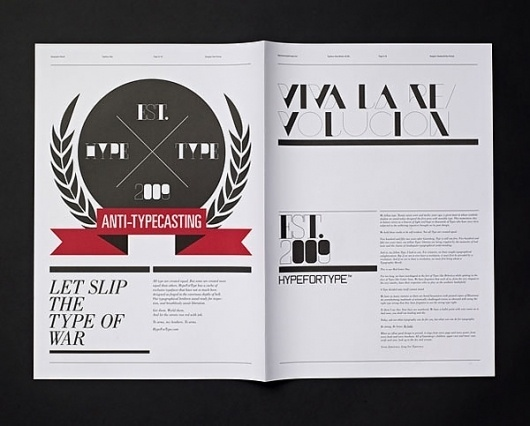 Eight Hour Day » Blog » The Best Thing I Saw Today • February 17, 2012 #thin #thick #and #revolution #typography