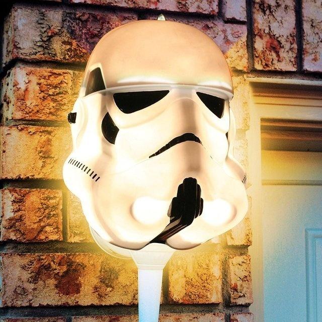 Star Wars Stormtrooper Porch Light Cover #tech #flow #gadget #gift #ideas #cool