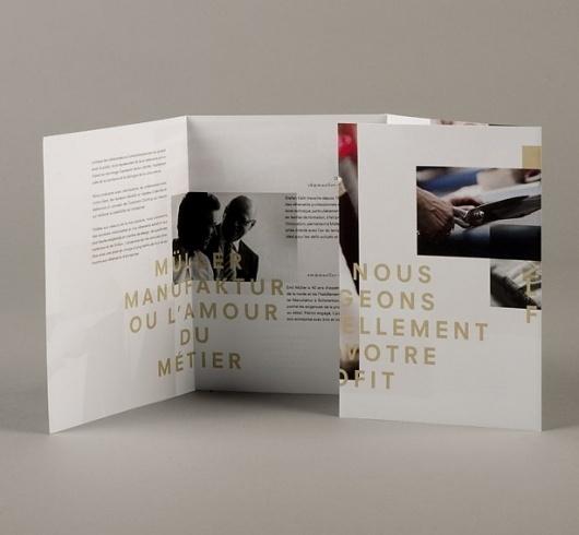 DEUTSCHE & JAPANER - Creative Studio - müller manufaktur #print #design #graphic #publication