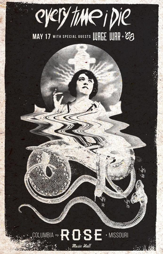 Lacey Smith - Luluweird Design - Gig Poster