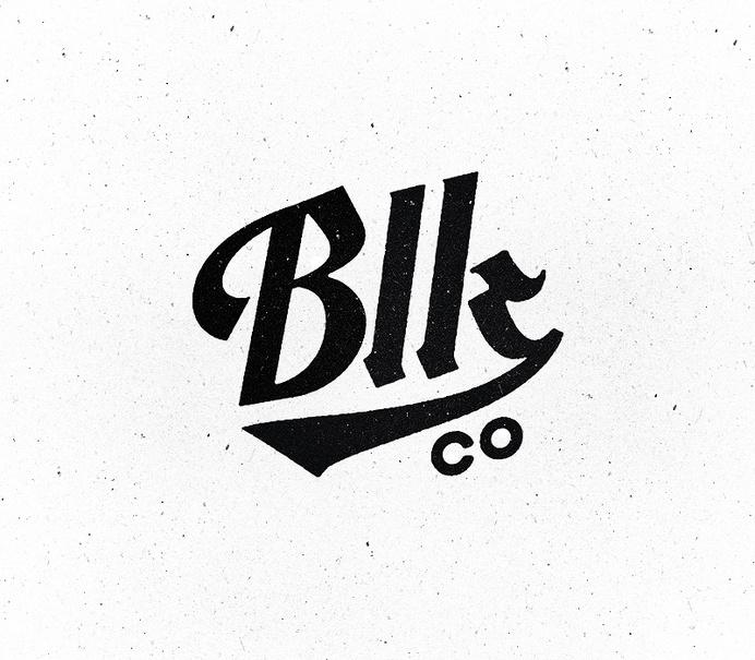 Blk Co. Logo Update #design #brand #identity #logo #typography