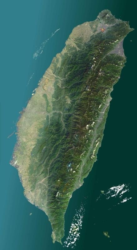 SpaceCollective Projects New fluidities #asia #satellite #taiwan #image