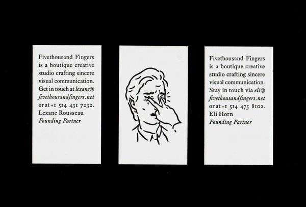 Edit Media ‹ Fivethousand Fingers — WordPress #branding #business #card #print #illustration #identity #typography