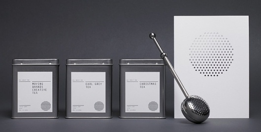 Fonts In Use – All About Tea #packaging #design #minimal #typography