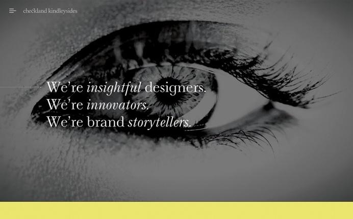 checklandkindleysides.com design agency uk studio webdesign website web inspiration inspire best modern minimal website award trend designbl