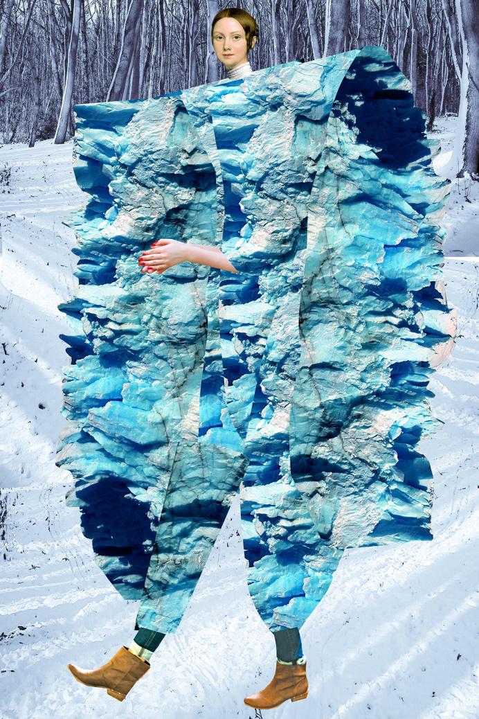 johanna goodman imaginary beings collage