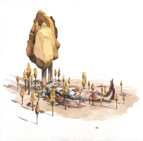 Rob Sato | PICDIT #design #illustration #painting #art #drawing