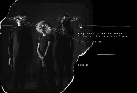 The Unknown Shadow. - Voyeur #analogue #negative #trash #photography #handmade #film #intervention #dark