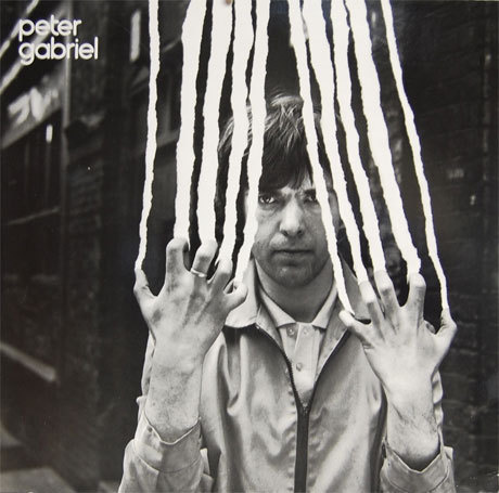 "Peter Gabriel - ""Peter Gabriel"" #abstract #album #old #rip #gabriel #white #school #graphic #photograph #black #pater #cover #storm #and #bw #thorgerson"