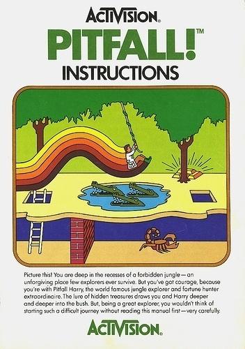 Atari - Pitfall! | Flickr - Photo Sharing! #video #booklet #games #manual
