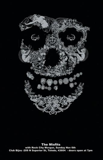 GigPosters.com - Misfits, The - Rock City Morgue #misfits #craig #poster #horky