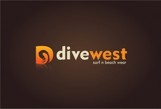 Divewest – Surf Logo Design | UK Logo Design #logo #design #surf