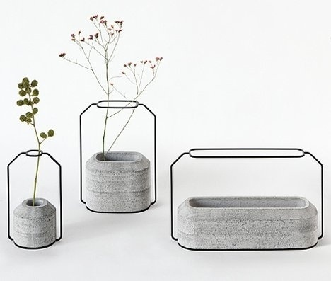 Wild Industrial Vases Add Some Modern Flair to Your Table   Designs & Ideas on Dornob #design