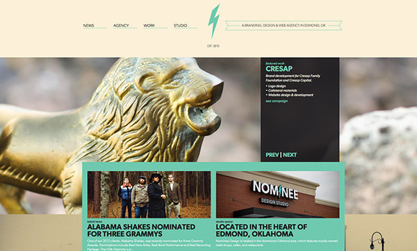 Nominee Design Studio #music #web #pale #green
