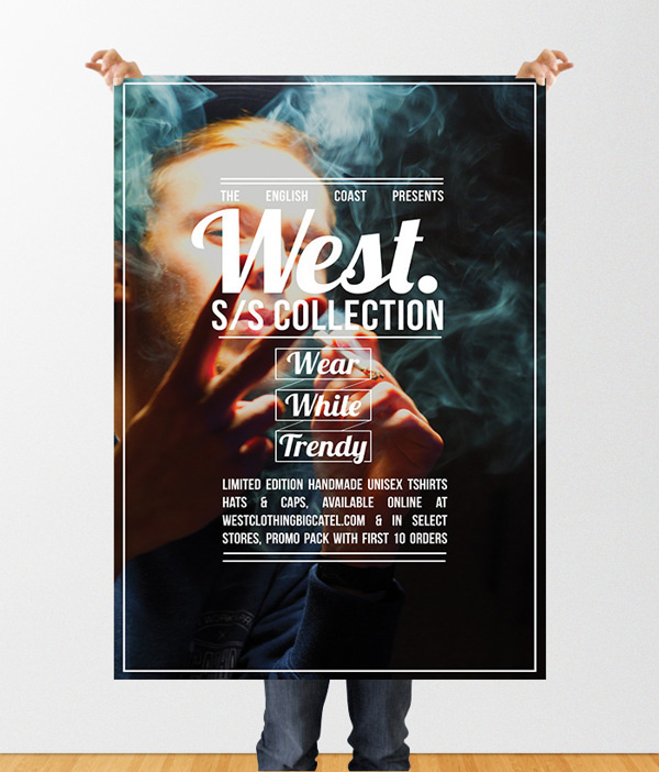 West Clothing #design #graphic #zine #poster