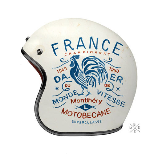Tumblr #france #helmet #rooster