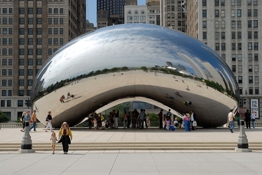 Anish Kapoor | Works | Gallery #cloud #reflective #gate #kapoor #art #anish