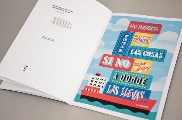 22DG Portfolio #2012 #design #book #quotes #handwritting #poster #22dg #editorial #typography