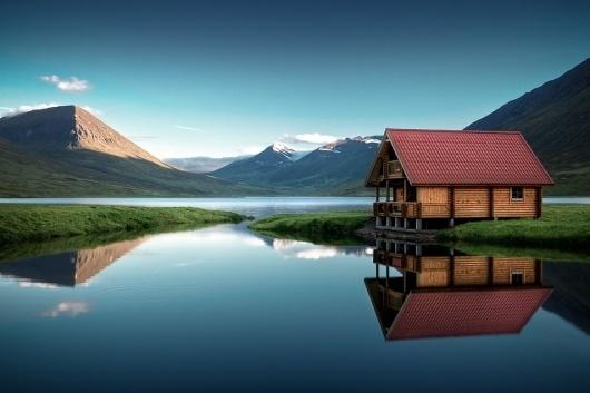 WOYgg.jpg (954×636) #cabin #serene