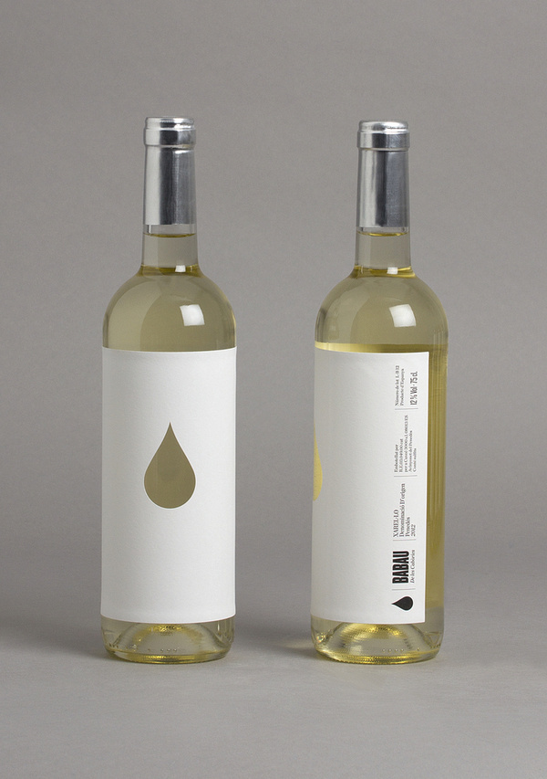 BABAU (Packaging, Print) by Lo Siento Studio, Barcelona #wine #bottle