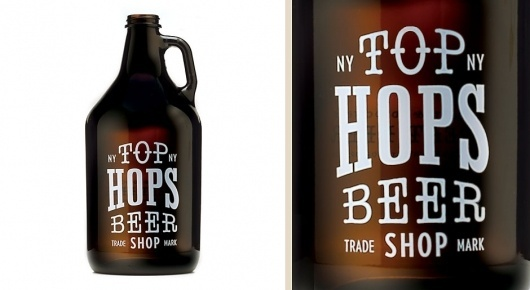 Brand Identity | Top Hops Beer Shop NYC | Helms Workshop #beer #design #graphic #label