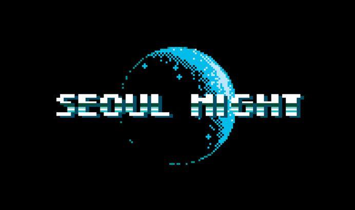 Seoul Night / Pixel Art on Behance